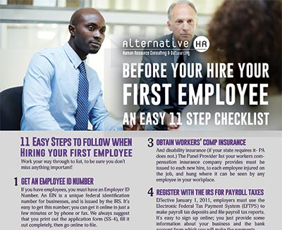 Before You Hire Your First Employee